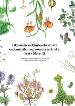 Illustrations and Descriptions of Endemic and Endangered Plant Species in Slovenia